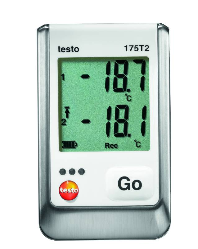 Testo 175 T2 - 2 Channel NTC Temperature Data Logger