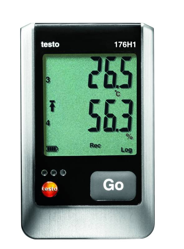 Testo 176 H1 - 4 Channel Temperature and Humidity Data Logger
