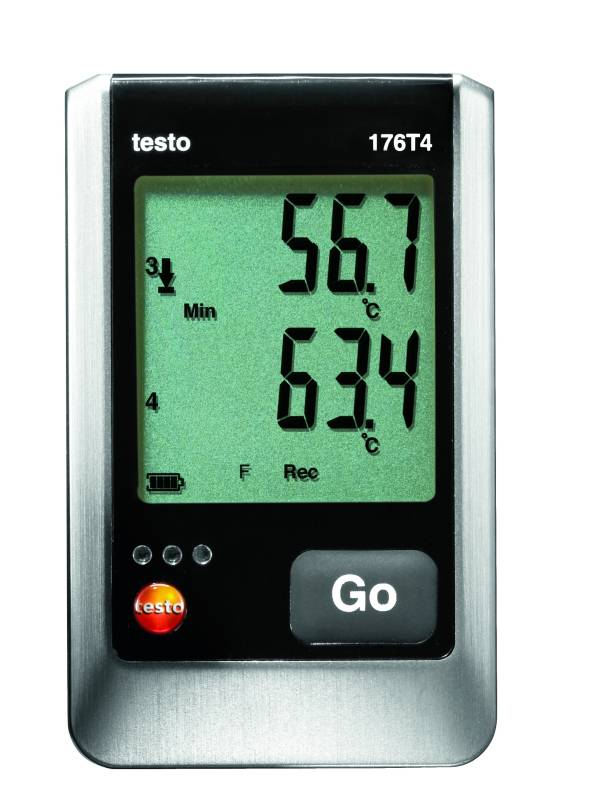 Testo 176 T4 - 4 Channel Temperature Data Logger