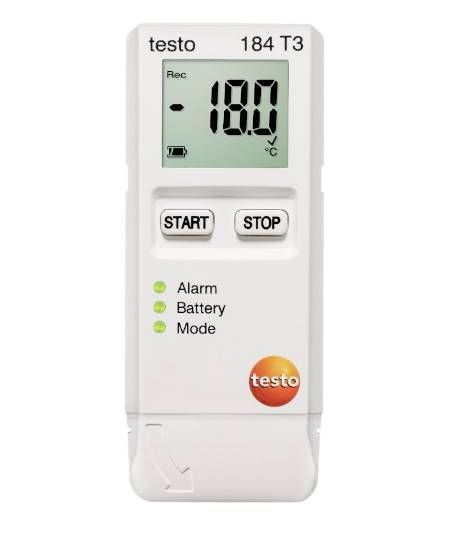 Testo 184 T3  - Temperature Data Logger