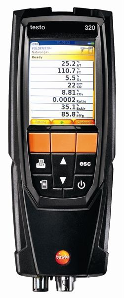 Testo 320B Flue Gas Analyser