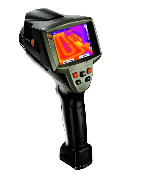 Testo 882 Super Resolution Thermal Imaging Camera